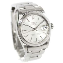ROLEX ロレックス デイトジャスト 78240 P番 腕時計 シルバー文字盤 自動巻き シルバー ボーイズ【中古】