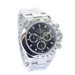 ROLEX ロレックス コスモグラフ デイトナ ランダム 116520 腕時計 ブラック文字盤 自動巻き ブラック シルバー メンズ【中古】