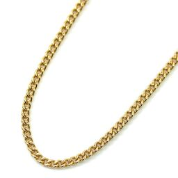 no brand Kihei 2 side single Total length about 40cm About 6g Necklace K18 gold Jewelry Yellow gold Unisex [Used]