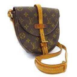 LOUIS VUITTON Louis Vuitton Shanti PM Monogram M40646 Shoulder Bag Monogram Canvas Brown Ladies [Used]