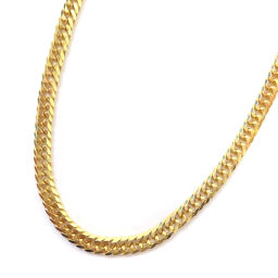 no brand Kihei 6-sided double Total length about 50.5cm About 10.3g Necklace K18 Yellow Gold Jewelry Yellow Gold Unisex [Used]