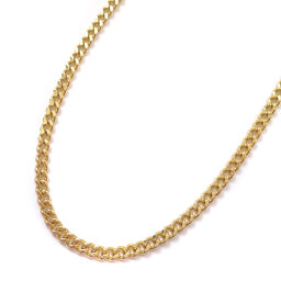 no brand Kihei 2 sides Total length about 45cm About 10.1g Necklace K18 Yellow Gold Jewelry Yellow Gold Ladies [Used]