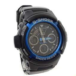 CASIO カシオ G-SHOCK アナデジ 4778/AW-591 腕時計 クオーツ ブラック ブルー メンズ【中古】