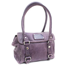 MARC BY MARC JACOBS Marc by Marc Jacobs Tote Bag Leather Purple Ladies [pre]