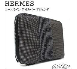 HERMES 【エルメス】美品 エールライン 手帳カバー アジェンダ キャンバス 【中古】小物 メンズ レディース