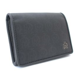 Dunhill Dunhill Windsor Coin Purses L2PA80A Coin Case PVC / Leather Black Men [Used]