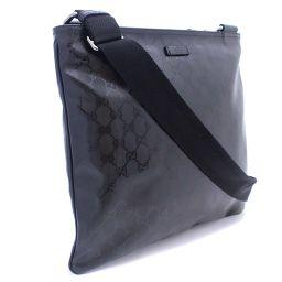 GUCCI Gucci GG implication 201446 shoulder bag PVC / leather black unisex [pre]