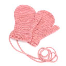 HERMES エルメス ベビーミトン 子供用手袋 その他小物 カシミヤ ピンク ユニセックス【中古】