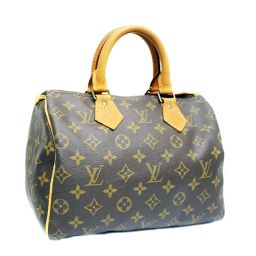 LOUIS VUITTON Louis Vuitton Monogram Speedy 25 Mini Boston M41109 Handbag PVC Brown Unisex [pre]