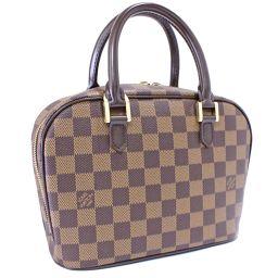 LOUIS VUITTON Louis Vuitton Salia Damier N51286 Handbag Damier Canvas Ebene Brown Ladies [pre]
