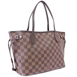 LOUIS VUITTON Louis Vuitton Shoulder Bag Neverfull PM Damier N51109 Tote Bag Damier Canvas Brown Ladies [Pre]