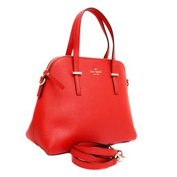 Kate Spade Kate Spade Cedar Street Safiano 2WAY shoulder PXRU4471 Tote bag embossed leather red ladies [pre-owned]
