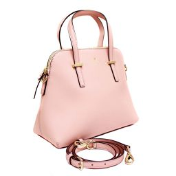 Kate Spade Kate Spade Safiano Cedar Street 2WAY PXRU4471 Tote Bag Leather Pink Beige Women [Pre]