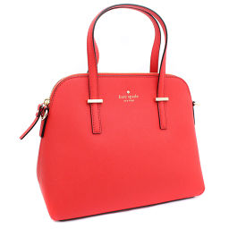 Kate Spade Kate Spade Cedar Street 2WAY PXRU4471 Handbag Leather Red Ladies [pre-owned]