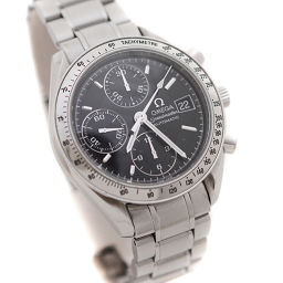 OMEGA オメガ スピードマスターデイト 3513.50 腕時計 ブラック文字盤 自動巻き シルバー メンズ【中古】