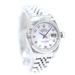 ROLEX ロレックス デイトジャスト 79174NA 腕時計 自動巻き シルバー レディース【中古】