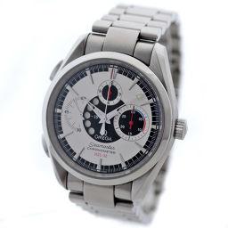 OMEGA オメガ シーマスター アクアテラ クロノグラフ NZL-32 2513.30 腕時計 ホワイト文字盤 自動巻き シルバー メンズ【中古】