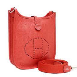 HERMES Hermes Evelyn TPM diagonally hung A stamped shoulder bag Trillon Clement Bougainvillea Ladies [pre]