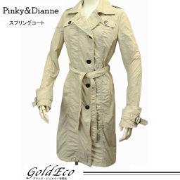 Pinky&Dianne 【ピンキー&ダイアン】 スプリング コート サイズ38151109 ベージュ レディース