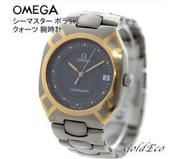 OMEGA 【オメガ】シーマスター ポラリス クォーツ 腕時計ボーイズ メンズ レディース チタン K18YG