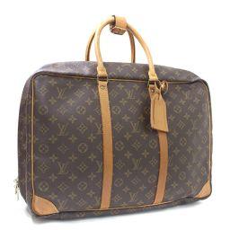 LOUIS VUITTON ルイ ヴィトン シリウス45 旅行鞄 ガーメント モノグラム M41408 ボストンバッグ PVC ブラウン ユニセックス【中古】