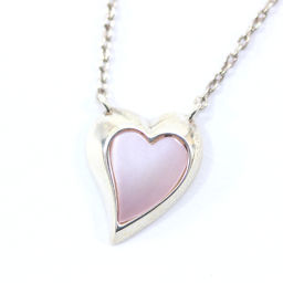 STAR JEWELRY star jewelry heart mother of pearl necklace silver 925 accessories silver pink ladies [pre]