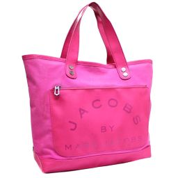MARC BY MARC JACOBS Makubai Mark Jacobs Tote Bag Canvas / Leather Pink Women's [pre]