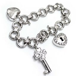 Folli Follie Folli Folli Bracelet 925 Silver / Rhinestone Accessories Silver Women [pre]