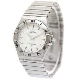 OMEGA オメガ コンステレーション ミニ 1562.30 腕時計 ホワイト文字盤 クオーツ シルバー レディース【中古】