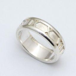 TIFFANY&Co. ティファニー アトラス リング・指輪 シルバー925 アクセサリー 14号 シルバー ユニセックス【中古】