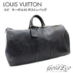LOUIS VUITTON 【Louis Vuitton】 Epipokol 55 Boston Bag M59142 Noir [pre] Women's Men