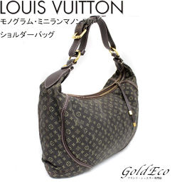 LOUIS VUITTON 【Louis Vuitton】 Monogram Minilan M95619 Manon MM Shoulder Bag Ebene bags Commuter bag