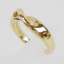 TIFFANY & Co. TIFFANY 750YG K18YG Figure Eight Infinity ring ring