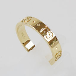 GUCCI Gucci icon ring K18YG ring # 14 (Japan size approx. 13.5 number) 【New finished already / second hand goods