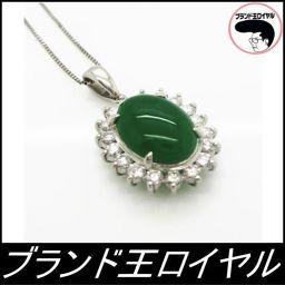 PTダイヤひすいネックレス