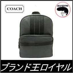 Coach Backpack Pebble Leather Backpack Men's