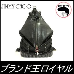 Men's backpack with Jimmy Choo studs