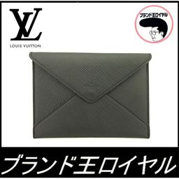 Louis Vuitton Epi Vuitton Pouch Novelty Pouch Card Case Epi Black