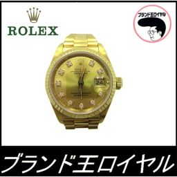 Rolex 69178G Datejust K18 golden gold women's