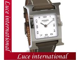 エルメス Hウォッチ PM 腕時計 エトープ スイフト HH1.210 X刻印 1609990006mihs