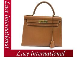 Hermes Kelly 28 exterior sewing Kushubel gold × gold metal fittings ○ S engraved beauty age 1709360225CT