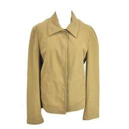 ■MAX&Co./マックス&コー/レディース/ジャケット/ベージュ 長袖 ステンカラー ショート丈 綿 サイズ: