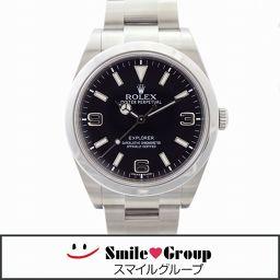 ROLEX/ロレックス/エクスプローラー 1/214270/ランダム番/ブラック/メンズ/腕時計 【中古】【送料無料】