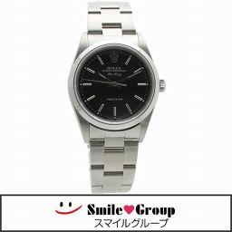 ROLEX/ロレックス/エアキング/SS/14000M/メンズ腕時計/自動巻き/ブラック文字盤 【中古】【送料無料】