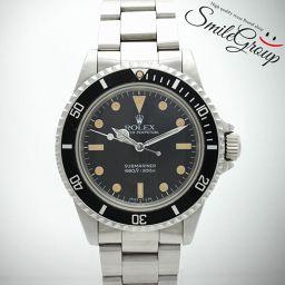 ROLEX/ロレックス/サブマリーナ(フチ有り) 腕時計/SS/メンズ/5513 (後期)/9番/ブラック文字盤/自動巻き 【中古】