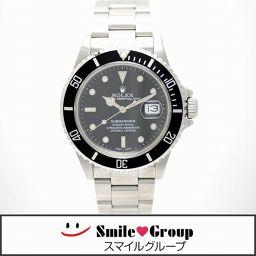 ROLEX/ロレックス/サブマリーナ デイト トリプルゼロ/SS/メンズ腕時計/168000/R番/ブラック文字盤 【中古】【送料無料】