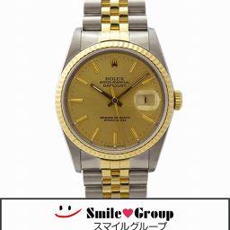 ROLEX/ロレックス/デイトジャスト/16233/L番/SS/K18/自動巻き/メンズ/腕時計 【中古】【送料無料】