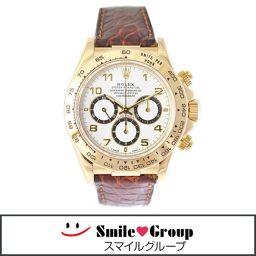 ROLEX/ロレックス/デイトナ/コスモグラフ/16518/メンズ腕時計 自動巻き 文字盤白 18金 [中古][