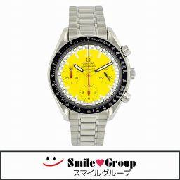OMEGA/オメガ/スピードマスター/シューマッハモデルクロノグラフ/メンズ腕時計/SS/3510-12/文字盤イエロー