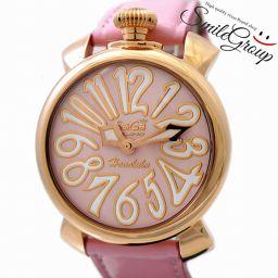 ガガミラノ 腕時計 マニュアーレ 40mm MANUALE GaGa MILANO 5021.L.E.HO.1 クォーツ ホノルル限定 レディース